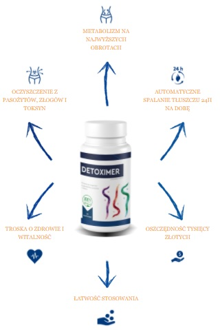 Detoximer-Efekty Jakie są korzyści i zalety z Detoximer?